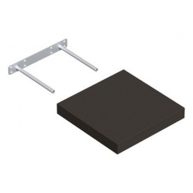 Samonosná police šedá 23,5x23,5cm