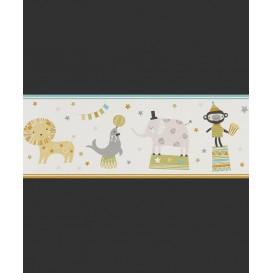 Detská  papierová bordúra 245417  20cmx5m