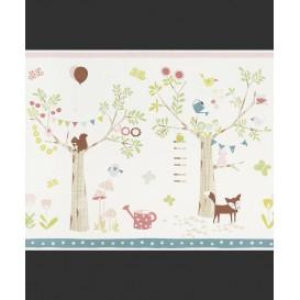 Dětská papírová bordura 247312 42,5cmx5m