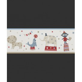 Dětská papírová bordura 245424 19,5cmx5m