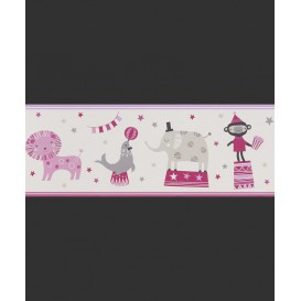 Detská  papierová bordúra 245400 19,5cmx5m