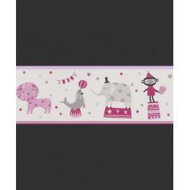 Dětská papírová bordura 245400 19,5cmx5m