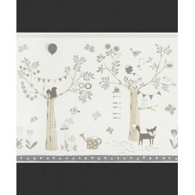 Dětská papírová bordura 247305 42,5cmx5m