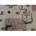 Obrus teflónový Vintage káva