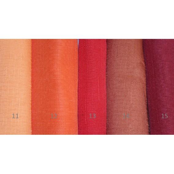 Obrus teflónový jednofarebný 12-oranžová žiarivá