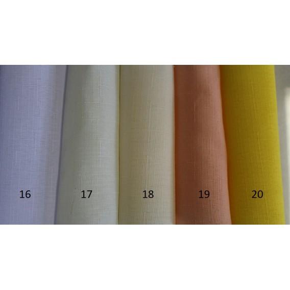 Obrus teflónový jednofarebný 16-biela