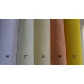 Obrus teflónový jednofarebný 19-svetlá žltá