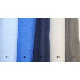 Obrus teflónový jednofarebný 32-žiarivá modrá