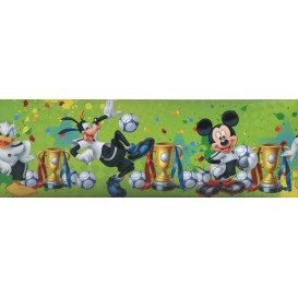 Samolepiaca bordúra Mickey Mouse zelená Bos0023 10,6cmx5m