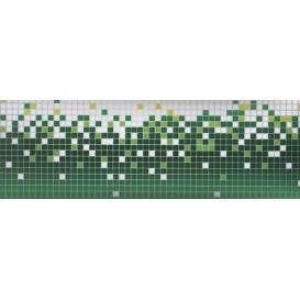 Samolepiaca bordúra Zelené pixely BO0088 10,6cmx5m
