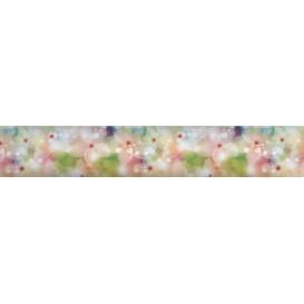 Samolepiaca bordúra Akvarelové kvety BO0073 5,3cmx5m