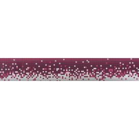 Samolepiaca bordúra Ružové pixely BO0087 5,3cmx5m