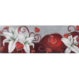 Samolepiaca bordúra Biele lalie BO5023 10,6cmx5m