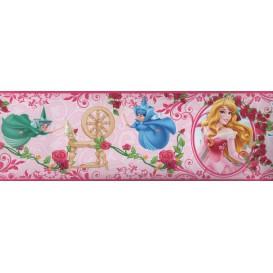 Samolepiaca bordúra Princezné BO5027 10,6cmx5m