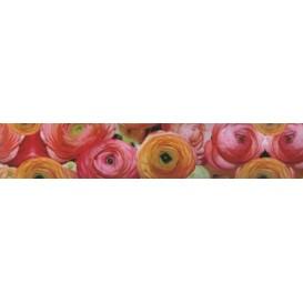 Samolepiaca bordúra Kvety BO5038 5,3cmx5m