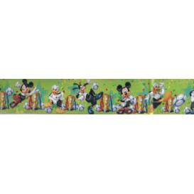 Samolepiaca bordúra Mickey Mouse zelená BO5040 5,3cmx5m