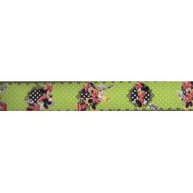 Samolepiaca bordúra Minnie Mouse BO5042 5,3cmx5m