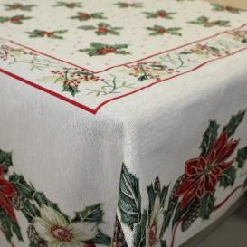 Gobelínový obrus Vianočná ruža