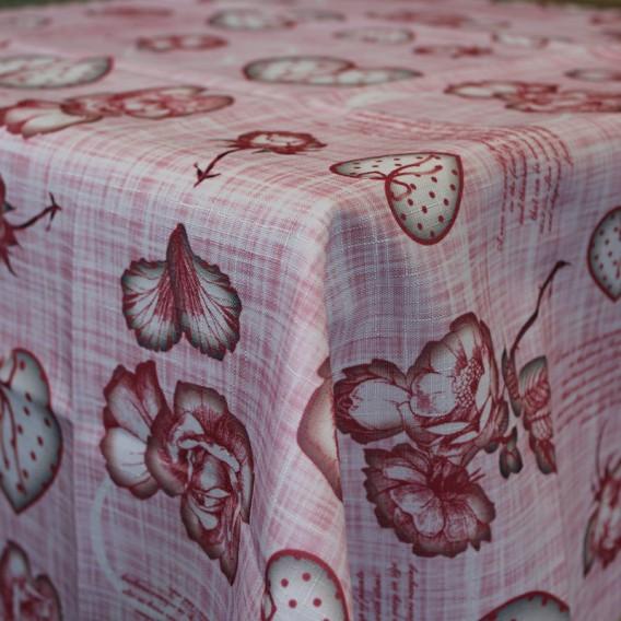Obrus teflónový Ružové kvety