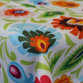 Obrus teflónový Farebné kvety