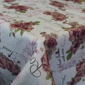 Obrus teflónový Vintage kvety 2