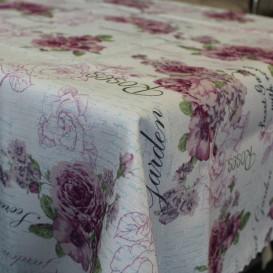 Obrus teflónový Vintage kvety