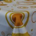 Obrus teflónový Žlté kruhy