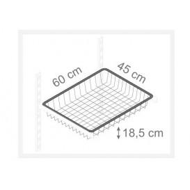 kôš sivý 185/450/600