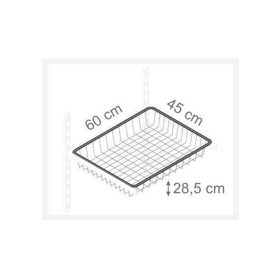 Kôš sivý 285/450/600