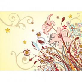 Fototapeta na stenu - FT0194 - Kreslené listy
