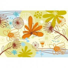 Fototapeta na stenu - FT0195 - Kreslené listy