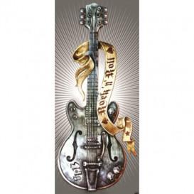 Dverová fototapeta - FT3438 - Gitara