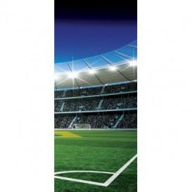 Dverová fototapeta - DV0308 - Futbalový štadión
