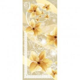 Dverová fototapeta - DV0332 - Žlté kvety