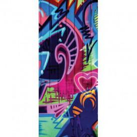 Dverová fototapeta - DV0388 - Grafity street style