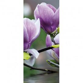 Dverová fototapeta - DV0406 - Fialový kvet