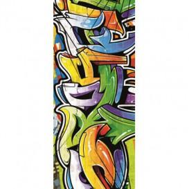 Dverová fototapeta - FT3380 - Street Style - Graffiti