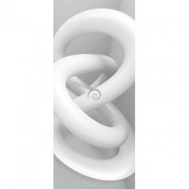 Dverová fototapeta - FT3764 - 3D uzol