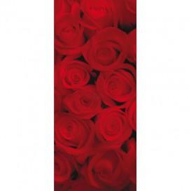 Dverová fototapeta - DV0120 - Červené ruže