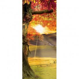 Dverová fototapeta - FT2827 - Toskánsko – západ slnka