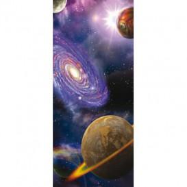 Dverová fototapeta - DV0148 - Vesmír