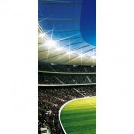 Dverová fototapeta - DV0192 - Futbalový štadión