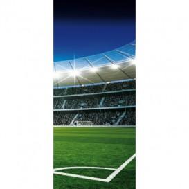 Dverová fototapeta - DV0197 - Futbalový štadión