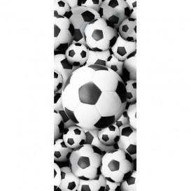 Dverová fototapeta - DV0649 - 3D futbalová lopta