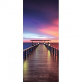 Dverová fototapeta - DV0667 - Dúhový západ slnka