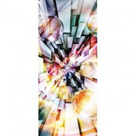 Dverová fototapeta - DV0676 - 3D abstrakcia