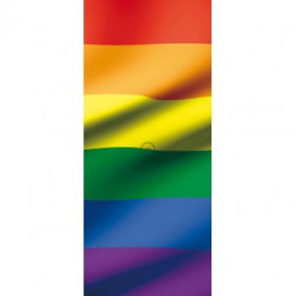 Dverová fototapeta - DV0204 - Dúhová vlajka