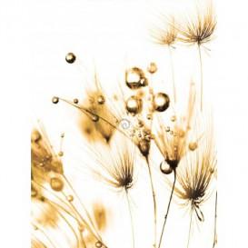 Fototapeta panel - PL0318 - Suchá tráva - sépia efekt