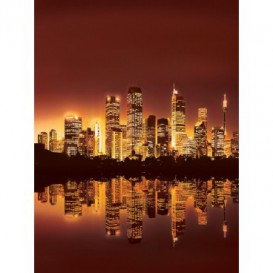 Fototapeta panel - PL0330 - Oranžový New York