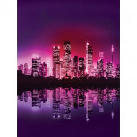 Fototapeta panel - PL0331 - Fialový New York